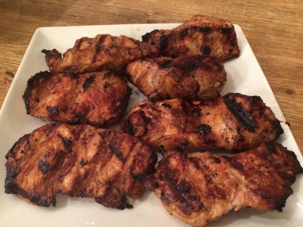 grilled turkey mignons