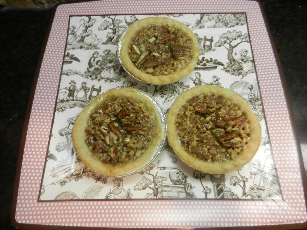 Granny's Pecan Pie Tarts