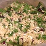 Orzo, Feta & Pine Nut Salad