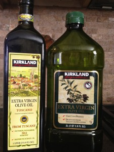 distinguishing between two Kirkland EVOO's