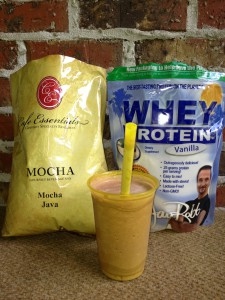 Lifetime Fitness mocha madness smoothie recipe