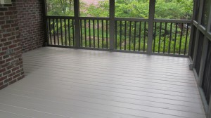 Screened Porch Makeover: New Look Less Than $500