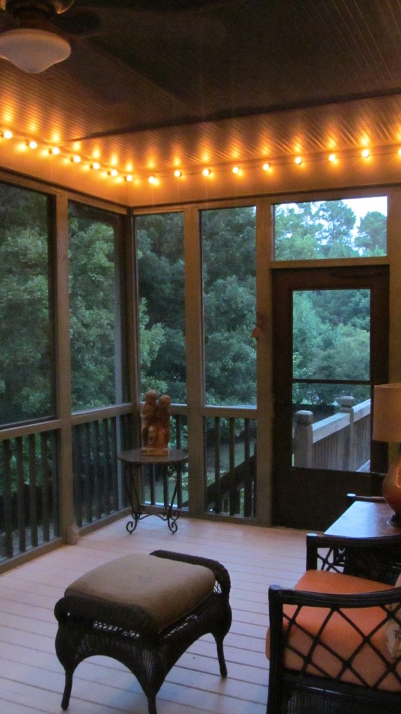 likewise Screened Porch Makeover A Few Small Changes A Whole New Look ...
