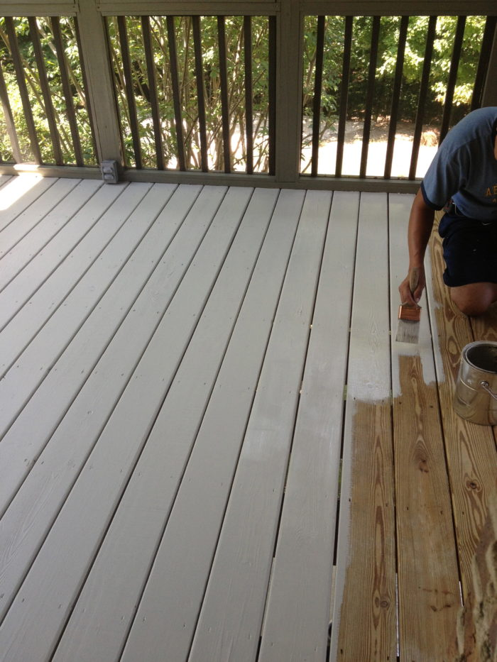 Behr Deck And Porch Paint