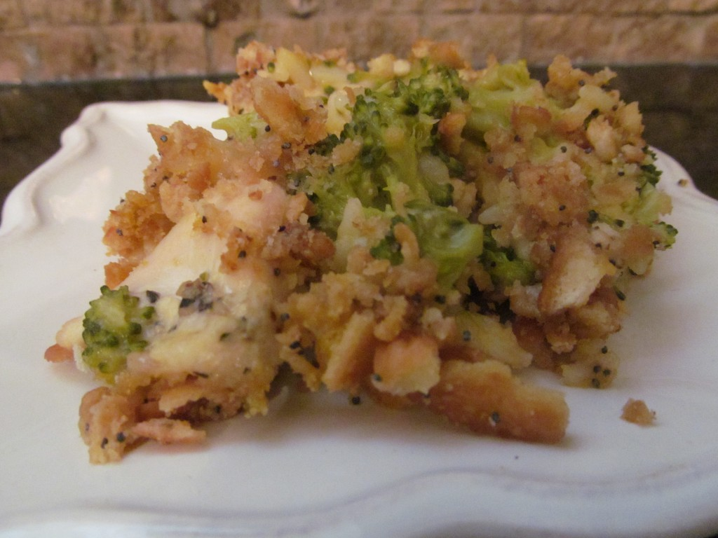 cheesy chicken broccoli rice casserole