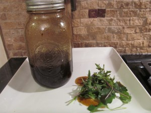 homemade honey balsamic vinaigrette