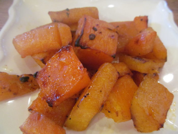 Roasted Honey-Maple Berbere Butternut Squash