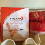 baby foot exfoliating foot peel