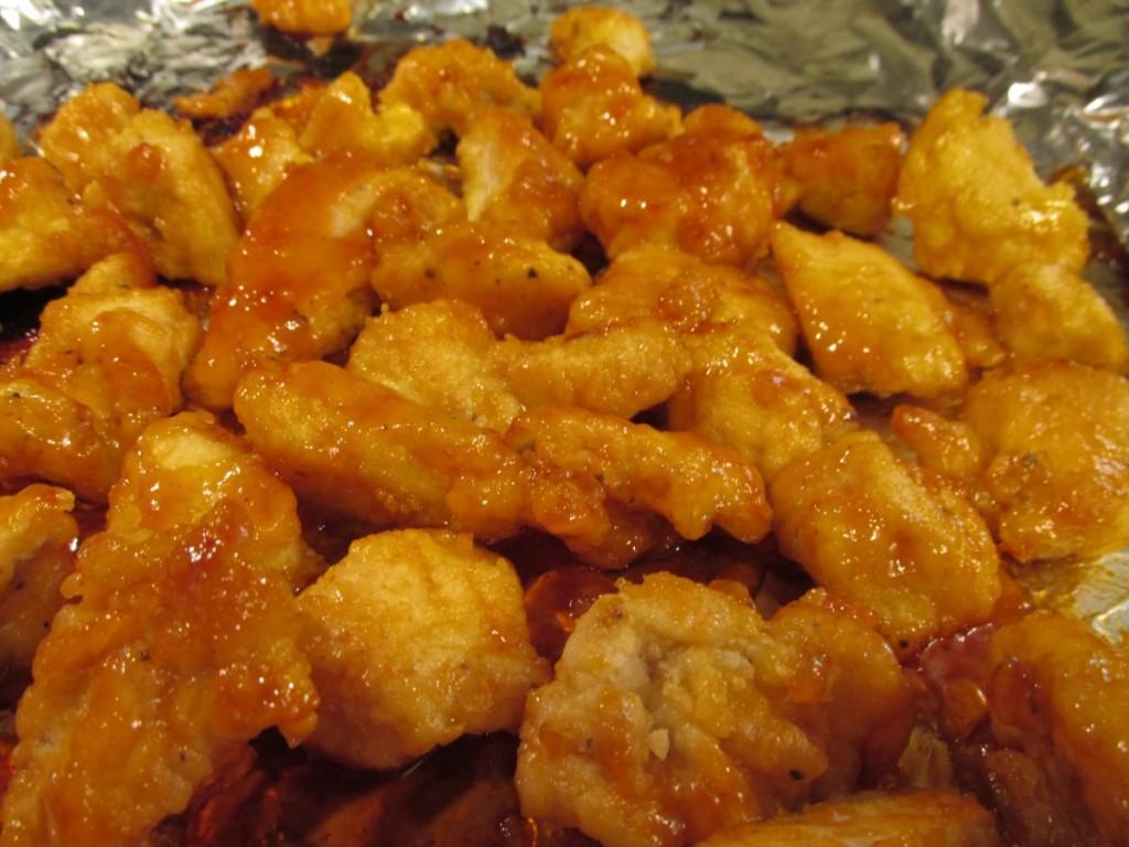 crispy sweet & sour chicken