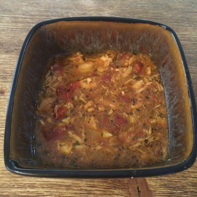 Italian Chicken Tomato Soup