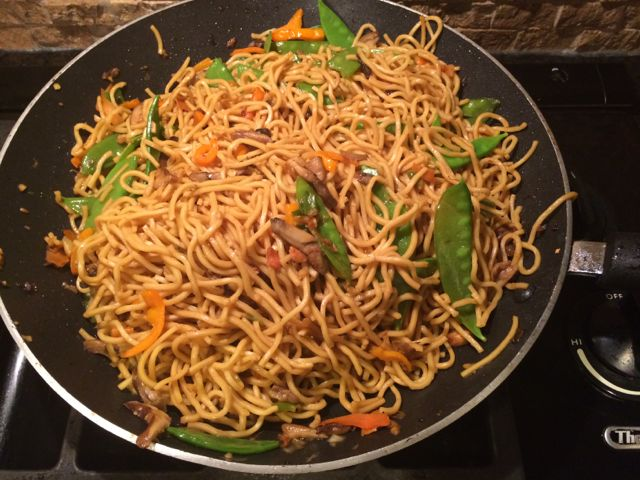 Beef lo Mein pf Changs Better Than Chang's lo Mein