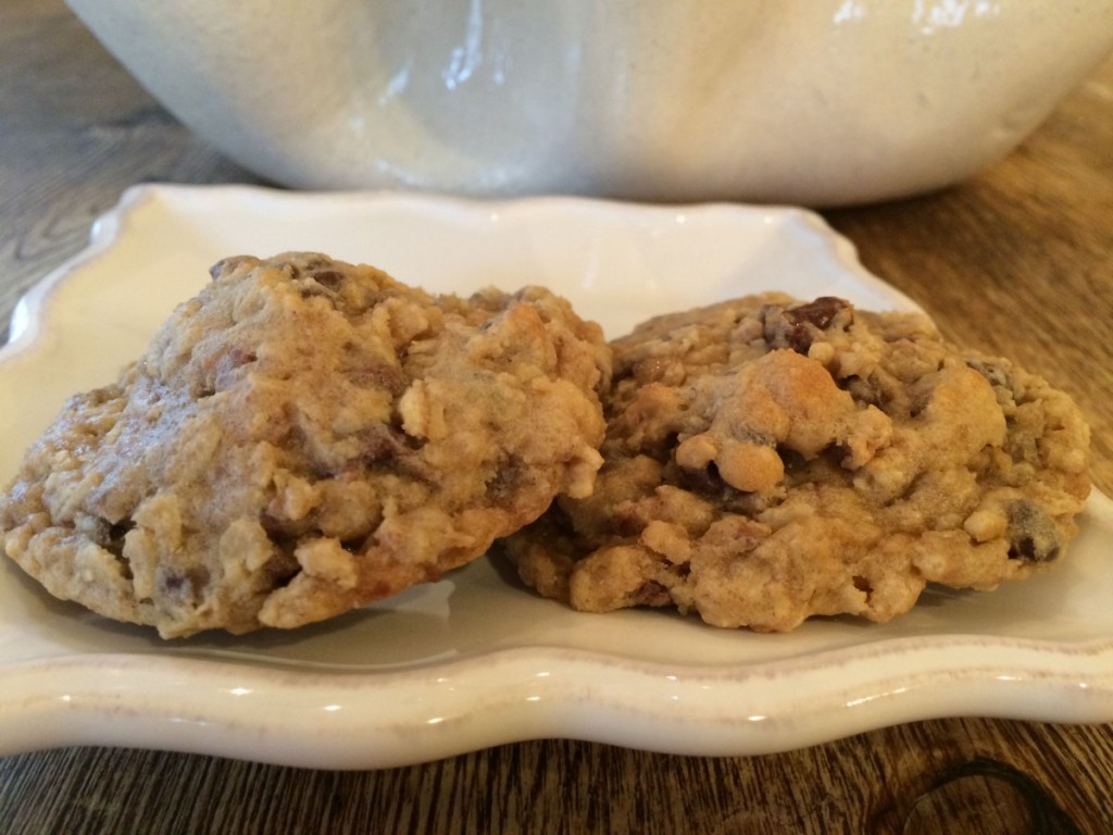 toffee oatmeal cookie dough