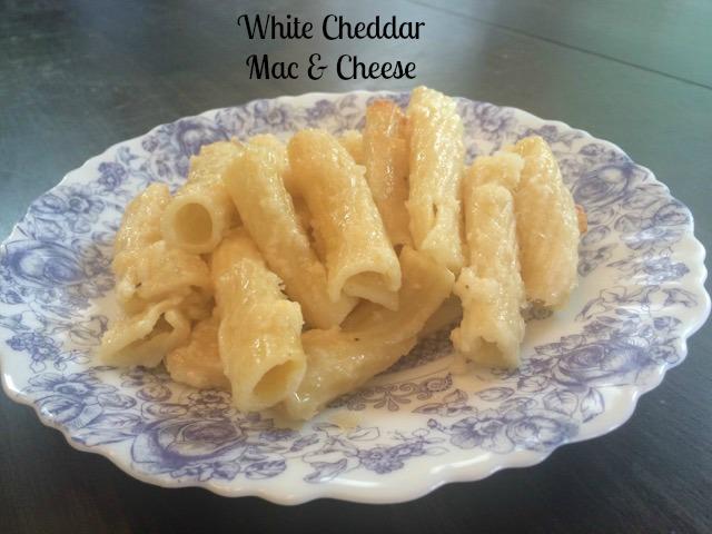 white cheddar mac & cheese