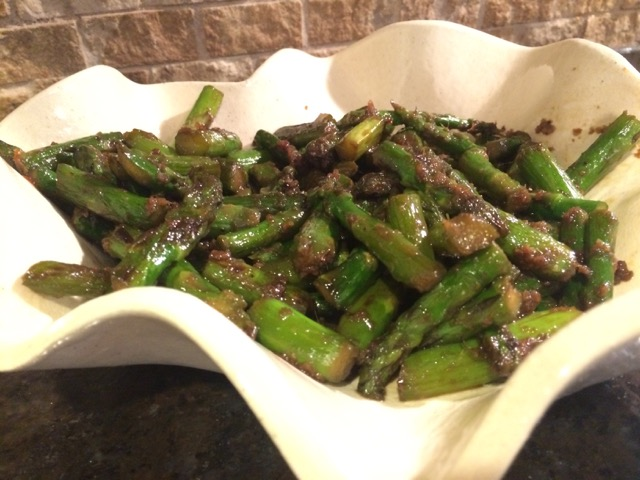 perfect stir-fry asparagus