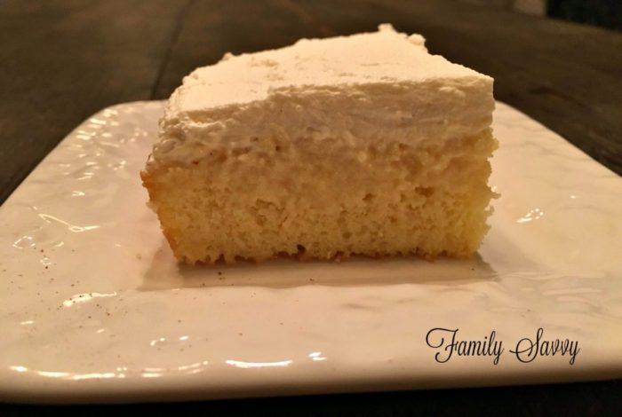 Easy Tres Leches Cake With Coconut Milk