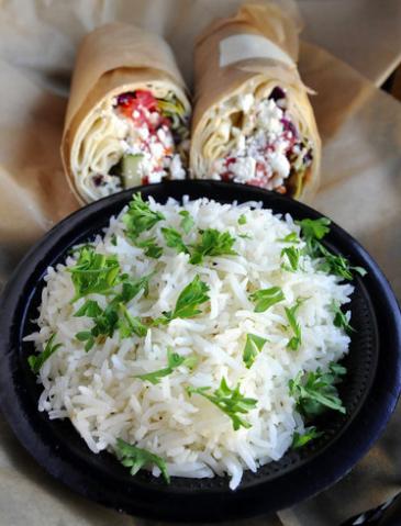 Taziki's Mediterranean Cafe's Basmati Rice