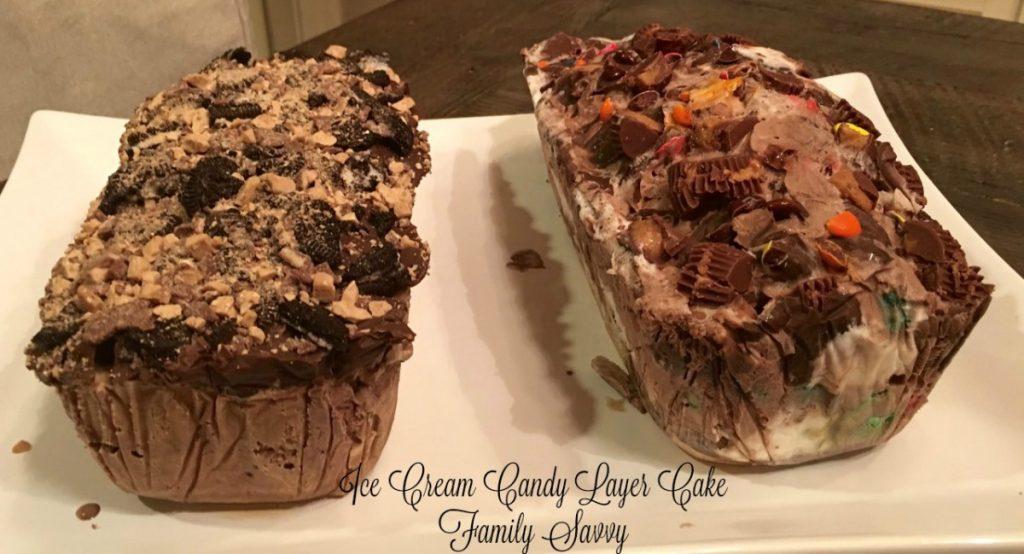 Ice Cream Candy Layer Cake