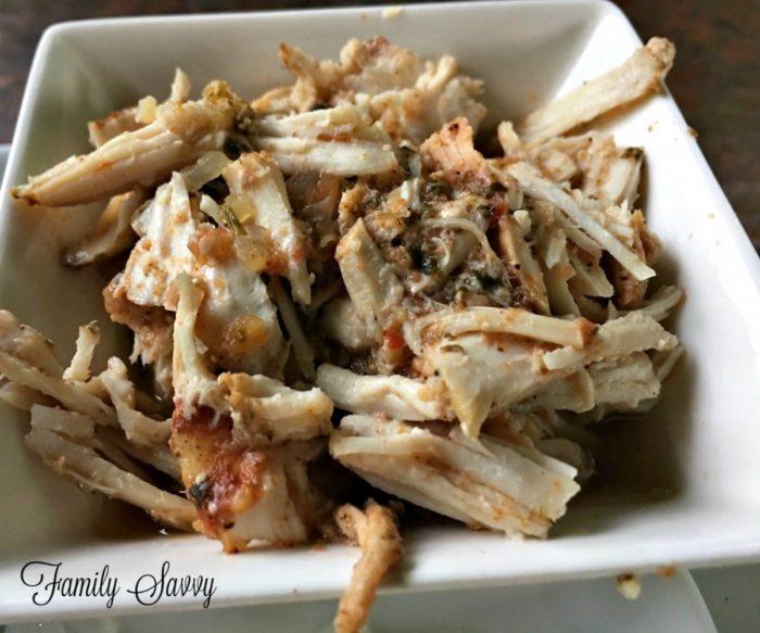 Slow Cooker Salsa Taco Chicken