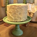 Petite Coconut Cake with Cream Cheese Frosting