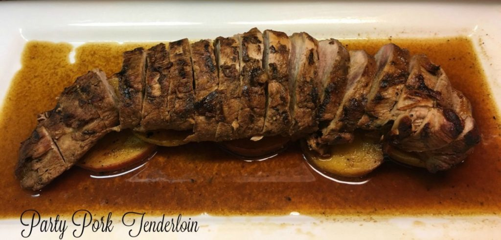 party pork tenderloin