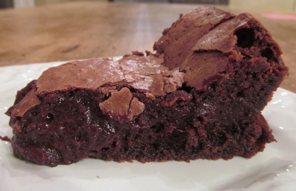 fallen chocolate souffle cake