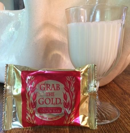 Grab the Gold Protein Snack Bar