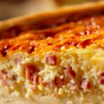 Easy Ham & Gruyère Quiche