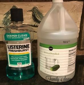 listerine vinegar foot soak: help or hype?