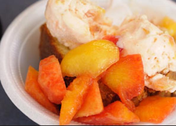 Almond-Peach French Toast