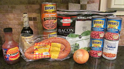 Conecuh Sausage Baked Beans For A Crowd
