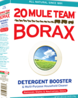 Borax: Use In Place of Softener For Fresh, Wrinkle-Free Laundry