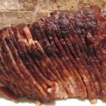 brown sugar & maple syrup glazed ham