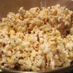 Coconut Sugared Popcorn Made In A Whirly Pop