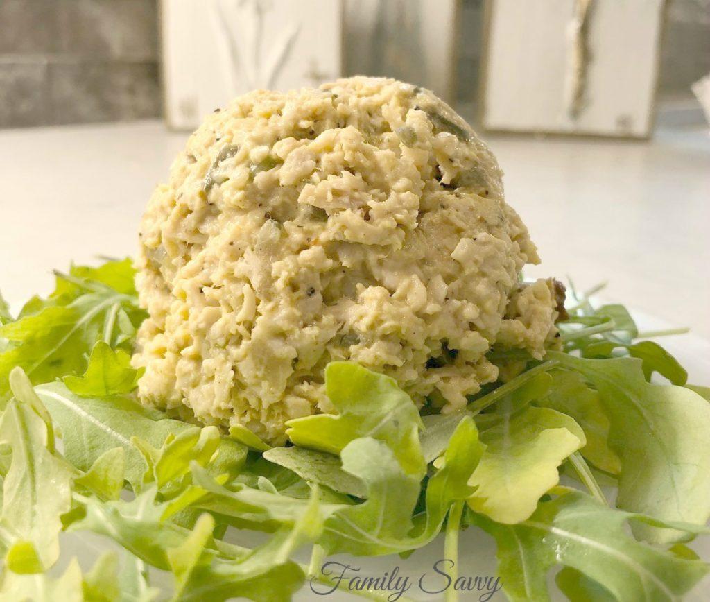 Curried Chicken Salad (Basketcase Cafe Copycat Recipe)