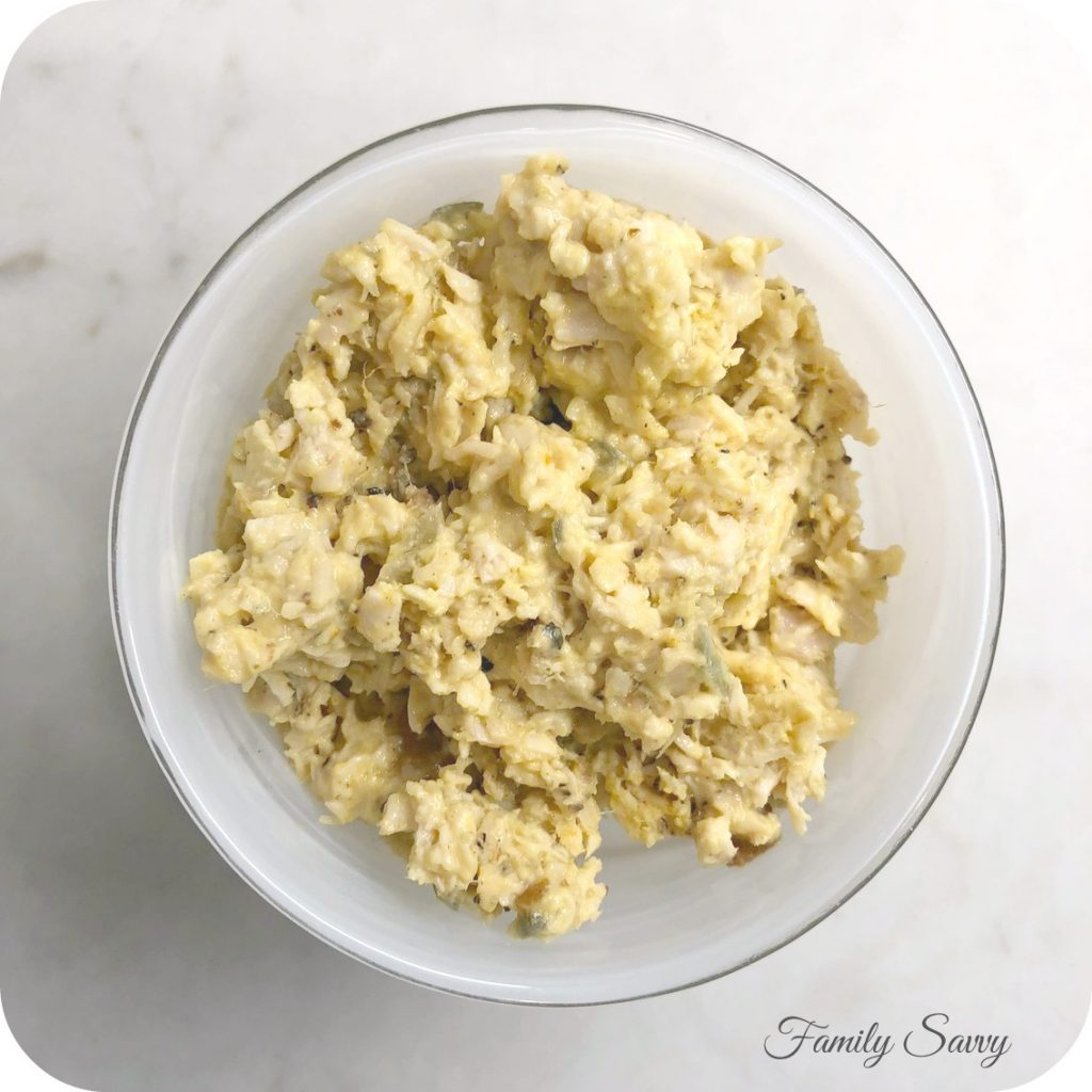 Curried Chicken Salad (Basketcase Cafe Copycat Recipe)