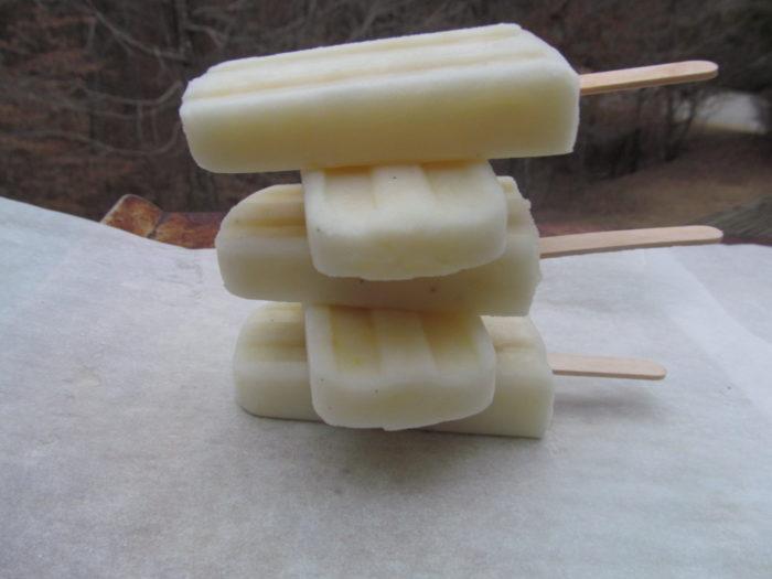 Lemon Buttermilk Ice Pops