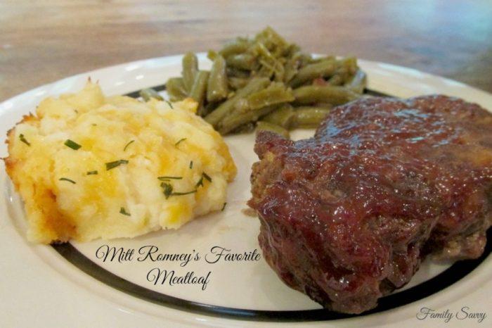 Mitt Romney's Favorite Meatloaf
