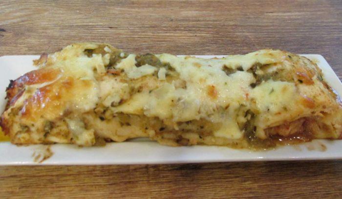 Pepper Jack Chicken Enchiladas With Salsa Verde