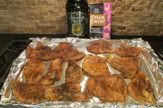Char Crust Roasted Garlic Peppercorn Chicken