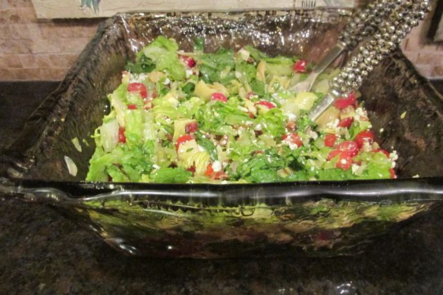 Carolyn's Heart of Palm Salad