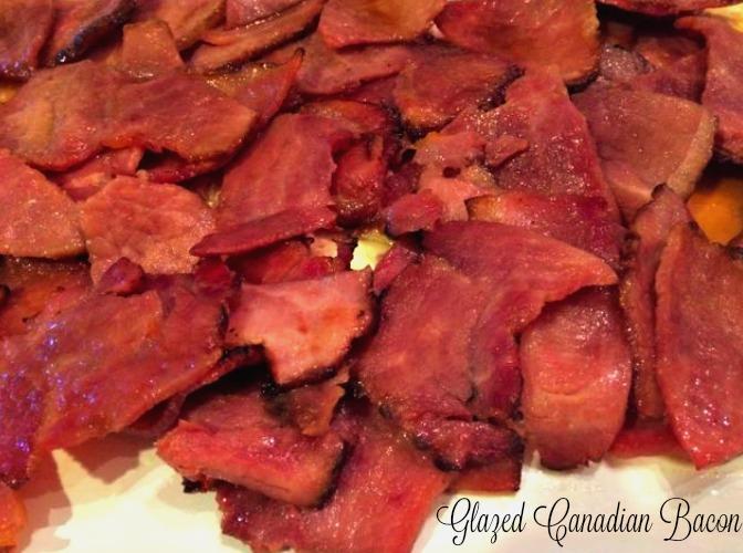 Glazed Canadian Bacon
