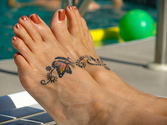 Will Baby Foot Remove Or Fade Tattoos Family Savvy