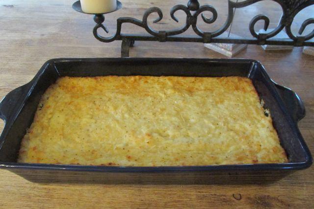 Gruyere Cheese Potato Bake