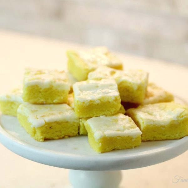 Easy Lemon Brownies You'll Love (Made From Cake Mix)