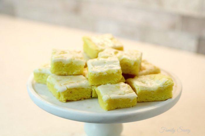 lemon brownies cake mix