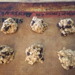 Oatmeal Chocolate Chip Cookie Dough For the Freezer