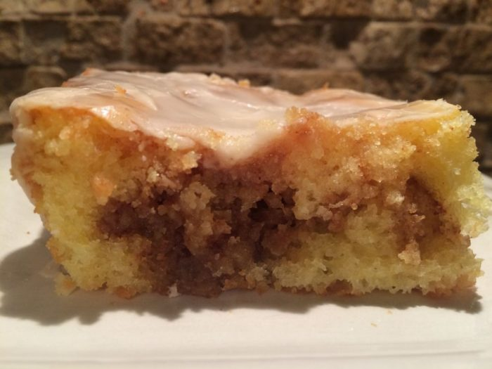 Honey Bun Breakfast Cake