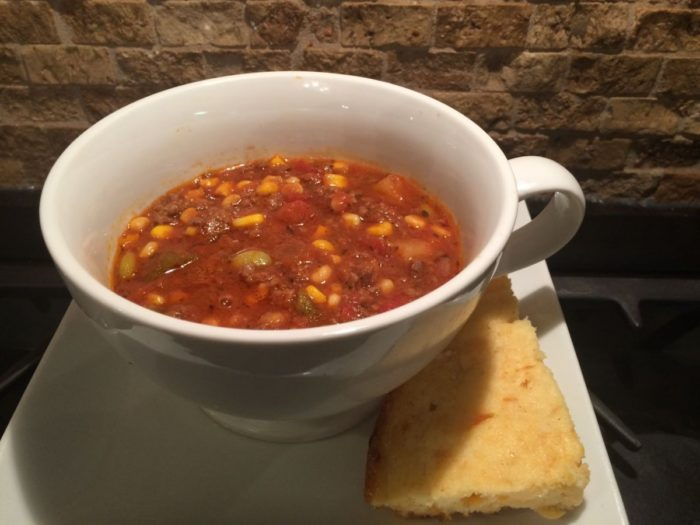 Easy Old Fashioned Hamburger Vegetable Soup