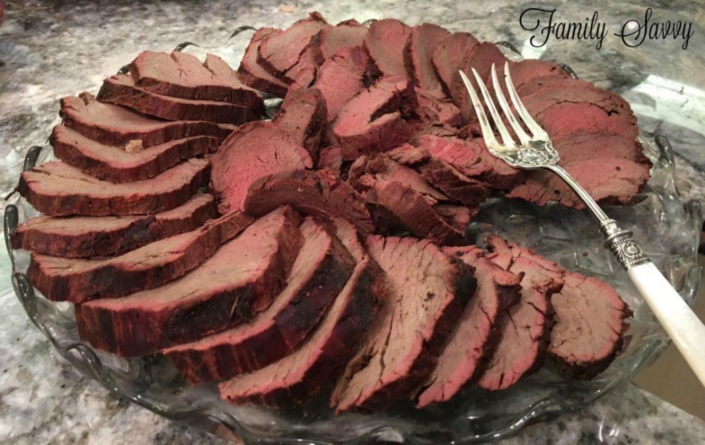 BEST beef tenderloin EVER