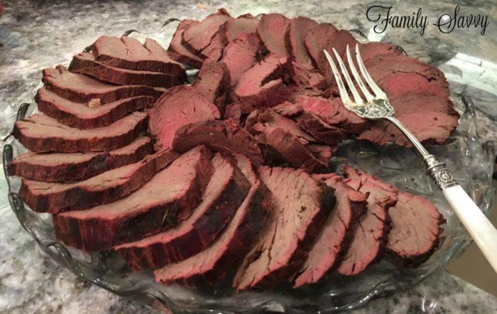Company's Coming Roast Beef Tenderloin